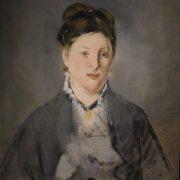 portrait de madame manet