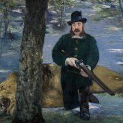 portrait de pertuiset en chasseur de lions