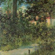 une allee du jardin de rueil